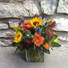Mixed Cube from Crestwood Florist, your flower shop in Kansas City