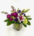 Lily Cube from Crestwood Flowers, your flower shop in Kansas City