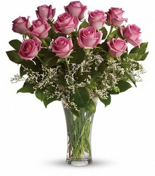 Pink Roses from Crestwood Flowers, your flower shop in Kansas City