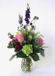 Spring Vase from Crestwood Flowers, your flower shop in Kansas City