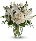 White Vase from Crestwood Florist, your flower shop in Kansas City